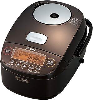 象印 炊飯器 5.5合 圧力IH式 極め炊き 鉄器コートプラチナ厚釜 ブラウン NP-BH10-TA
