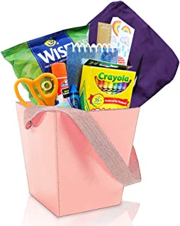 Surprise Gift Basket For Kids! - 10 piece - Package Includes Activities, Purse, Toys, And a Treat! Gift Set For All Children - girls & boys, ages 3-12