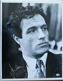 James Caan Signed The Godfather Authentic Autographed 16x20 B/W Photo PSA/DNA #I45272