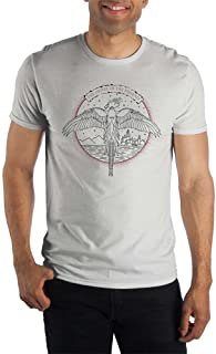 Harry Potter The Order Of The Phoenix Logo Men's White Tee T-Shirt Shirt