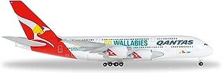 HE528917 Herpa Wings Qantas A380 1:500 Wallabies Model Airplane