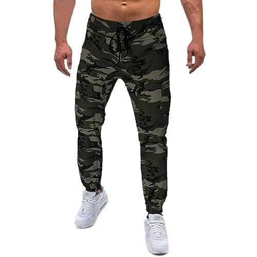 MODCHOK Homme Pantalon Jogging Sarouel Surv/êtement Sweat Pants Sport Longue Slim Fit