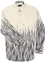 Jhane Barnes Blue Haywire Long Sleeves Shirt
