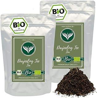 Azafran Schwarzer Tee - Indischer BIO Darjeeling Schwarztee 1kg