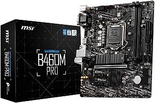 ام اس اي B460M برو برو سيريز لوحة الأم (mATX، الجيل العاشر انتل كور LGA 1200 مقبس ، DDR4 ، M.2 ، USB 3.2 الجيل 1، 2.5 G LA...