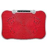 eilison 200W plataforma de vibración equipo de Fitness con mando a distancia - KWNO557, Rojo