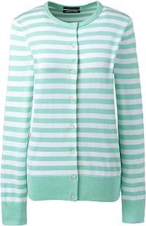 Women's Supima Cardigan Stripe Sweater
