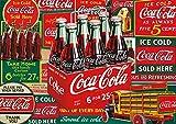 Buffalo Games - Coca-Cola Evergreen - 500 Piece Jigsaw Puzzle
