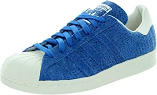 adidas Superstar 80S Casual Women's Shoes Size 8.5 Blue/White