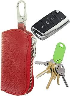 Car Key Fob Keyless Entry Keychain Keybag Keycase Purse Wallet Zipper Organizer