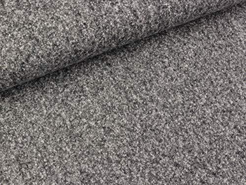 Tweed Camilla Salz und Pfeffer grau-weiß-schwarz