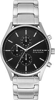 Skagen Holst Men's Black Dial Stainless Steel Analog Watch - SKW6609