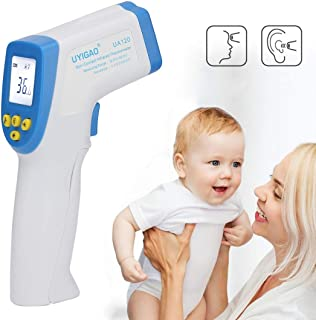 PULUZ DT8018 Infrared Thermometer Forehead Human Body Digital Laser Non-Contact Multi-Functional LED Screen Digital Displa...