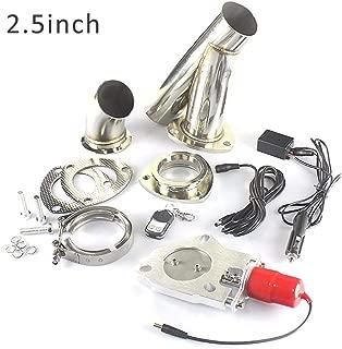 Ambienceo 2.5 63 millimetri in acciaio inox kit di interruttori valvola di scarico silenziatore elettrico con telecomando