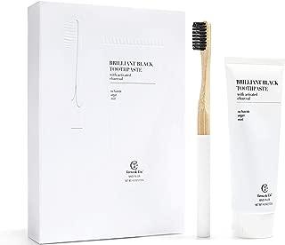 Organic Toothpaste Bamboo Toothbrush
