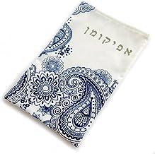 BARBARA SHAW GIFTS Afikomen Bag - Paisley Blue