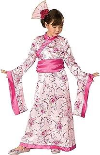 Rubies Girls Asian Princess Halloween Kimono Dress Costume, 2T-4T, Pink
