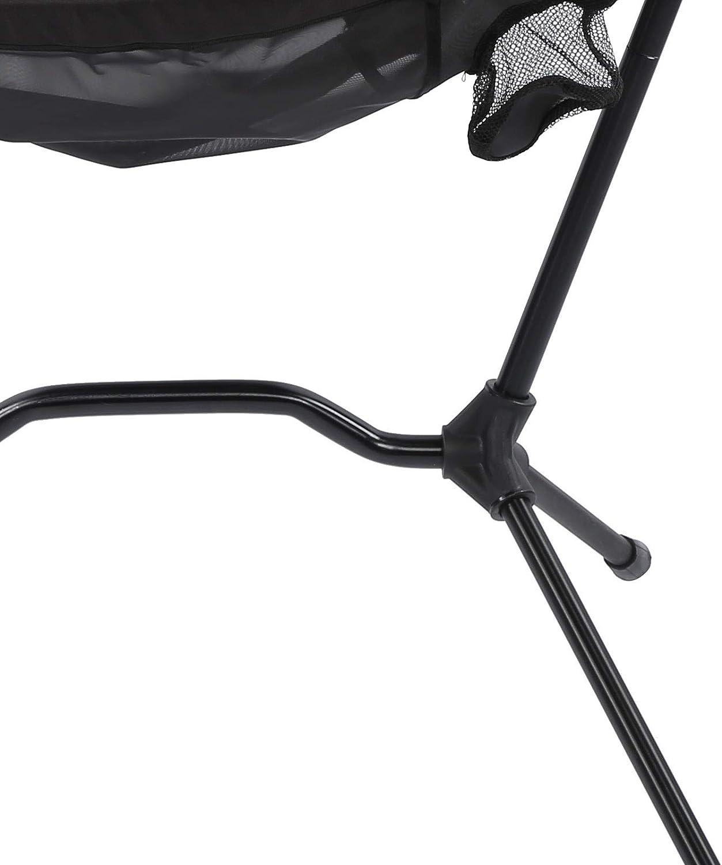 Silla de camping, portátil 210T de nailon multifuncional, transpirable y suave, silla de pesca con bolsa de almacenamiento para picnics en el jardín