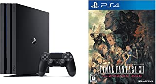 PlayStation 4 Pro ジェット・ブラック 1TB (CUH-7000BB01) + ファイナルファンタジーXII ザ ゾディアック エイジ セット