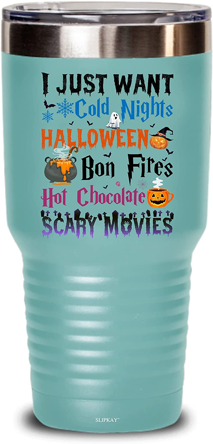 I Just Want Cold Nights Halloween Recommended Scary Bon Chocolate Hot Fires mart