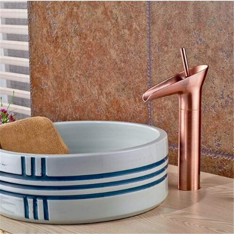 Wasserhahn Waschtisch Armatur Badarmaturen Küche Armaturbecken Wasserhahn Deck Montiert Ein Loch Einhebel Hot & Cold Wasserhahn