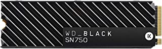 WD_Black SN750 500GB Gen3 PCIe M.2 2280 Heatsink NVMe Internal Gaming SSD, WDS500G3XHC