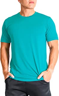 Litume Men's Quick Dry, Odor Control, UV Sun Protection T Shirt for Running, Workout, Hiking, Outdoor Activities