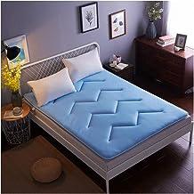 Futon Mattress, 3D Breathable mesh Mattress, Double/Single Student Dormitory Sponge Tatami Mattress,Blue,150 * 200/59 * 79...