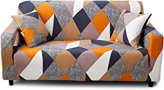 Feilaxleer Housse de canapé Extensible 3 Places avec 1 Housse de Coussin,Revêtement de Canapé (3 Places,K)