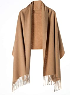 Cashmere Wrap Shawl for Women | Authentic 100% Pure Cashmere Extra Large (75inx25.6in) Scarf