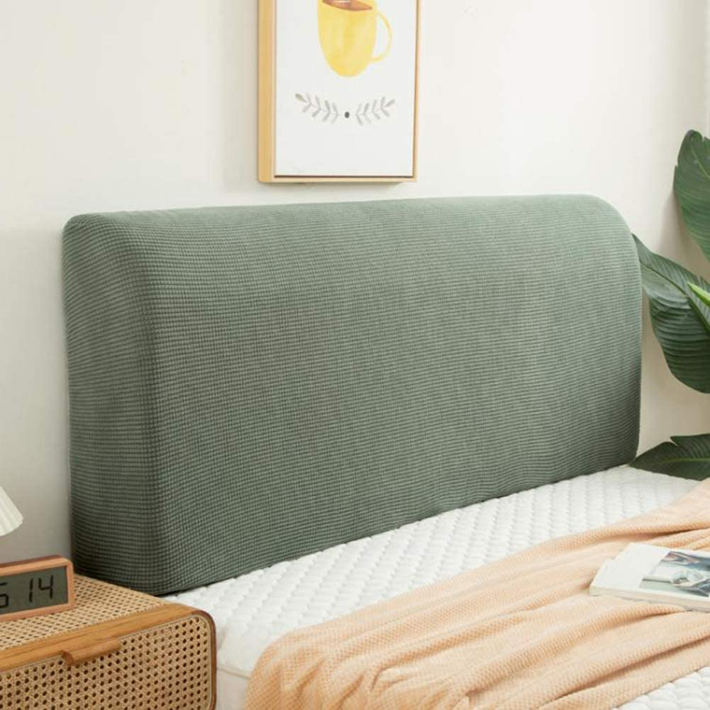 QLIGHA Today's only Headboard Dust Tulsa Mall Cover Stretch All-Inclusive Hea Bed Fabric