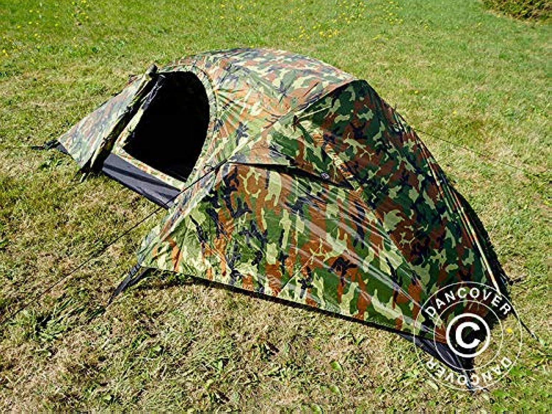 Dancover Camouflage-Zelt Woodland RECOM, 1 Person. B07Q5ZH9ZN  Direktgeschäft