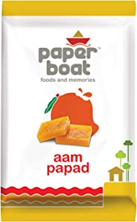 Paper Boat Aam Papad Family Pack, Fruit Bar, No Added Preservatives and Colours (Pack of 3, 90g Each)