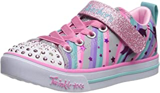 Skechers Kids' Sparkle Lite-Magical Rainbows Sneaker