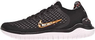 Mens Rn 2018 Running Shoe (Black/Total Orange-White, 11.5 D(M) US)