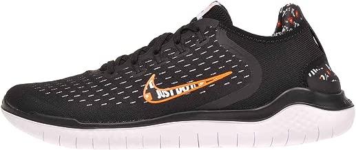 Nike Mens Rn 2018 Running Shoe (Black/Total Orange-White, 11.5 D(M) US)
