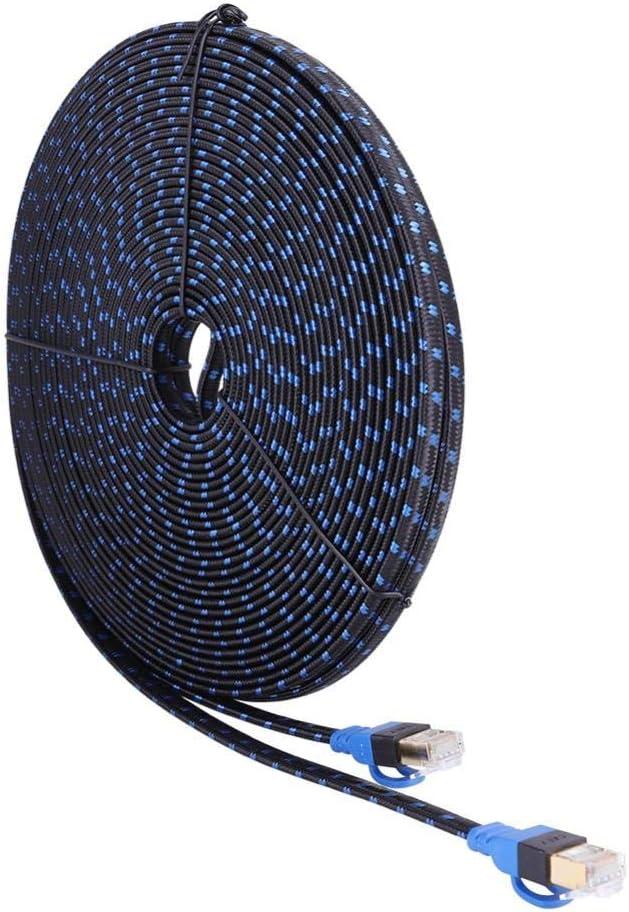 C/âble Ethernet Cat7 C/âble r/éseau Plat LAN RJ45 Cordon de raccordement Fictory C/âble Ethernet 20m