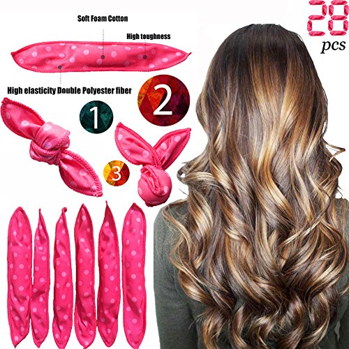 Foam Hair Rollers Curler Clips No Heat For Long Short Hair Soft Style Sleep Hair Rollers Care Wig Cap Set Buy Online In Maldives At Desertcart