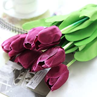 Best purple tulip bridal bouquet Reviews