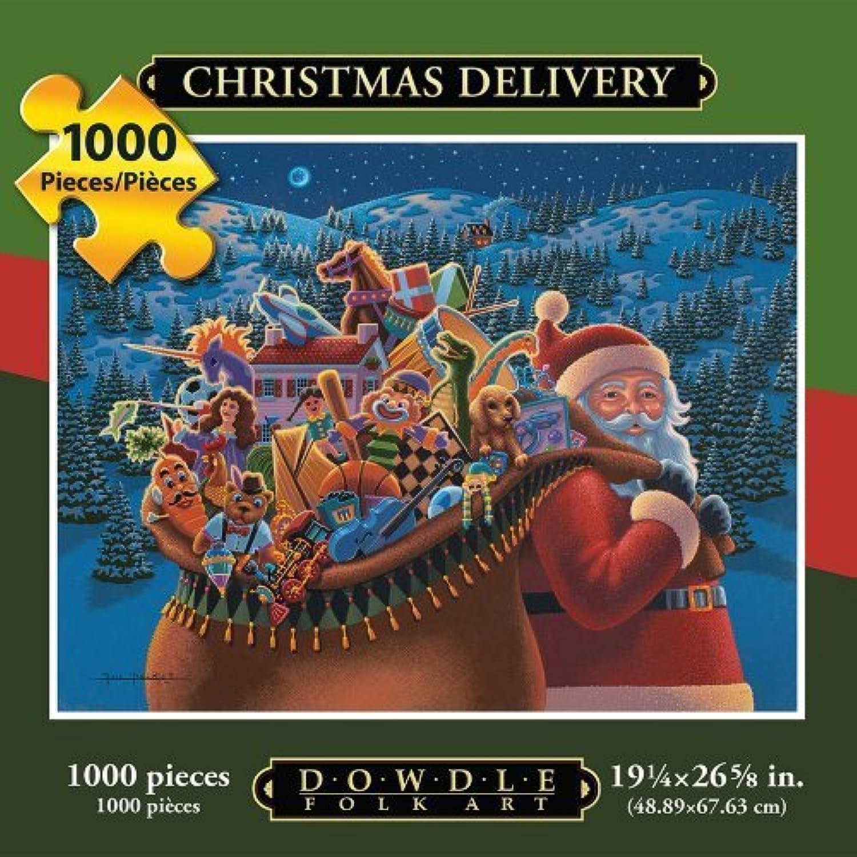 autentico en linea Jigsaw Puzzle - Christmas Delivery 1000 Pc By Dowdle Folk Folk Folk Art by Dowdle Folk Art  Ahorre 60% de descuento y envío rápido a todo el mundo.