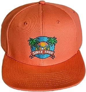 Vans Granby Crushed Orange Snapback Hat