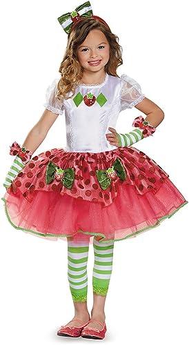 Disguise 84499L Strawberry Shortcake Tutu Prestige Costume, Small (4-6x) by Disguise