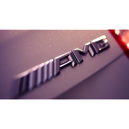 Amg Emblem Schriftzug Logo Typenschild Silber Chrome Für Alle Modelle Auto