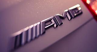 Blau - Wei/ß Chrom Otro Ref0001 Emblem Anagrama passend f/ür BMW 82 mm