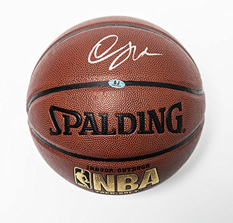 Demar DeRozan Autographed Spalding NBA I O Basketball  Tgoldnto Raptors