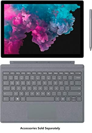 "2019 Surface Pro 6 SP6 12.3"" Touchscreen (2736 x 1824) Latest Model Tablet PC, Intel Quad-Core i5-8250U (>i7-7500U), 8GB RAM, 128GB SSD, WiFi, USB 3.0, Windows 10 Home, Silver, Customized Accessories"