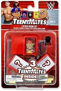 WWE TeenyMates Series 2 Locker Room Set