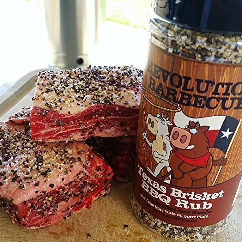 Texas Beef BBQ Rub - Best on Brisket, Steak & Burgers