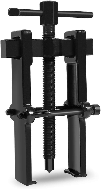 Extractor de rodamientos Cocoarm, extractor de rodamientos internos, extractor de rodamientos de piloto de dos mandíbulas, de acero al carbono, poleas ajustables, kit de herramientas