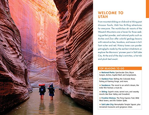 Fodor's Utah: with Zion, Bryce Canyon, Arches, Capitol Reef & Canyonla... - 6195f7BQzCL